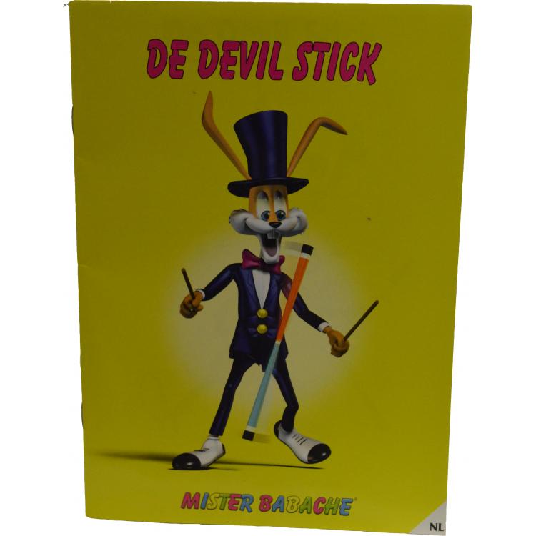 Devil sticks  boekje