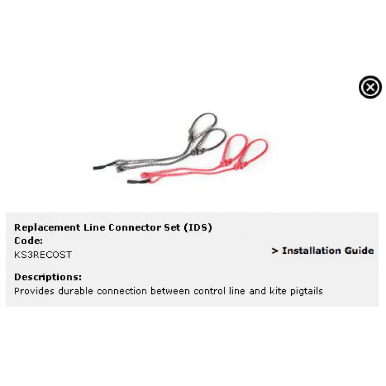 Connection line set